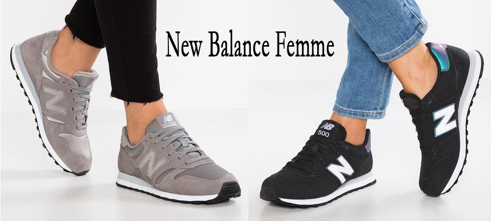 new balance femme pas cher