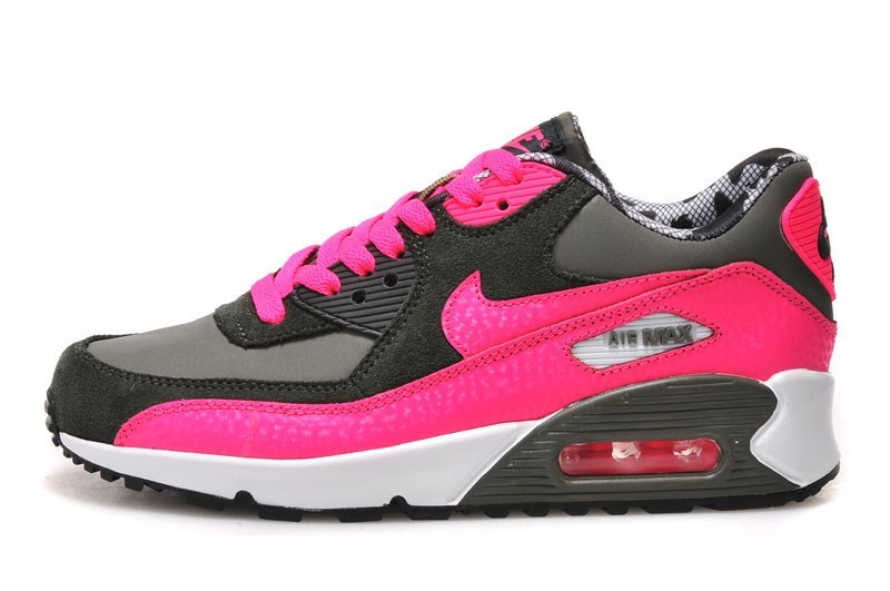 watch 539c9 90416 Outlet le plus récent FR Chaussures Nike Air Max 90 Femme Fuchsia Rose,  Noir Mesh Femme Baskets - pf-behague.fr