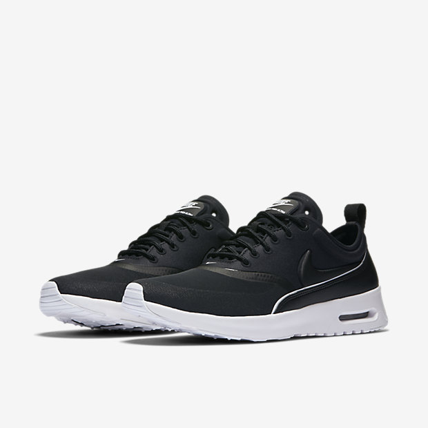 femme nike air max thea blanche noir grise chaussures - Armoire A Chaussures Pas Cher2804