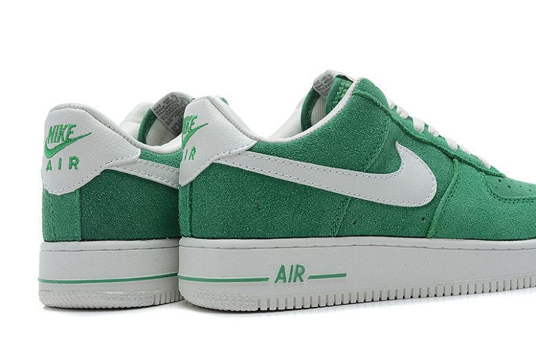 los angeles e13aa 53d1c Homme Nike Air Force One Vert Air Force Homme Remise Air Force 1 Low Homme  Blanc et Vert 9W gMaF0 ...